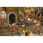 Puzzle  Grafika-Kids-01431 XXL Teile - François Ruyer: Dungeon