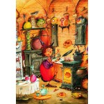 Puzzle  Grafika-Kids-01454 François Ruyer - Die Hexe