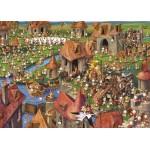 Puzzle  Grafika-Kids-01457 François Ruyer - Kaninchen