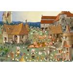 Puzzle  Grafika-Kids-01460 François Ruyer - Bauernhof