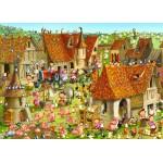 Puzzle  Grafika-Kids-01465 François Ruyer - Bauernhof