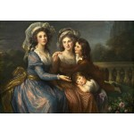 Puzzle  Grafika-Kids-01476 Louise-Élisabeth Vigee le Brun: The Marquise de Pezay, and the Marquise de Rougé with Her Sons Alexi