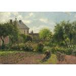Puzzle   Camille Pissarro: The Artist's Garden at Eragny, 1898