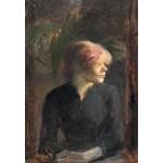 Puzzle   Henri de Toulouse-Lautrec: Carmen Gaudin, 1885