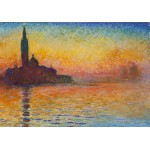 Puzzle  Grafika-00035 Claude Monet: Saint-Georges-Majeur au Crépuscule, 1908