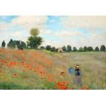 Puzzle  Grafika-00057 Claude Monet: Coquelicot, 1890