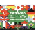 Puzzle  Grafika-00084 Ziko: Deutsche Esperanto Jugend