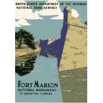 Puzzle  Grafika-00091 Fort Marion, National Monument, 1938