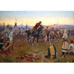 Puzzle  Grafika-00297 Charles Marion Russell: Single-Handed, 1912