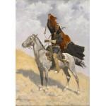 Puzzle  Grafika-00550 Frederic Remington: The Blanket Signal, 1894 - 1898