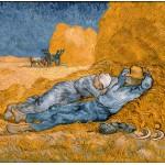 Puzzle  Grafika-00690 Van Gogh Vincent: La Sieste (d'après Millet), 1890