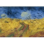 Puzzle  Grafika-00692 Van Gogh Vincent: Champ de Blé aux Corbeaux, 1890
