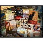 Puzzle  Grafika-00880 Vintage Poster