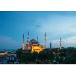Puzzle  Grafika-01209 Blaue Moschee, Türkei