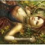 Puzzle  Grafika-01379 Mantle of Leaves