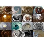 Puzzle  Grafika-01404 Collage - Treppen