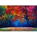 Puzzle  Grafika-01546 Herbstwald