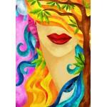 Puzzle  Grafika-01571 Macchia - The Hidden Woman