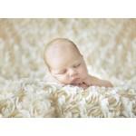 Puzzle  Grafika-01607 Konrad Bak: Baby sleeping in the Roses