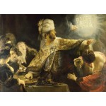 Puzzle  Grafika-01734 Rembrandt - Belsazar, 1636-1638
