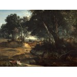 Puzzle  Grafika-01985 Jean-Baptiste-Camille Corot: Forest of Fontainebleau, 1834