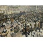 Puzzle  Grafika-02009 Camille Pissarro: Boulevard des Italiens, Morning, Sunlight, 1897
