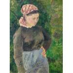 Puzzle   Camille Pissarro: Peasant Woman, 1880