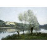 Puzzle   Jean-Baptiste-Camille Corot: Ville-d'Avray, 1865