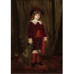 Puzzle   Mary Cassatt: Eddy Cassatt (Edward Buchanan Cassatt), 1875