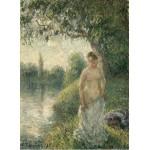 Puzzle   Pissarro Camille: The Bather, 1895