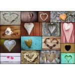 Puzzle  Grafika-T-00043 Collage - Love