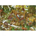 Heye-08832 Ryba Puzzle: Funny Farm