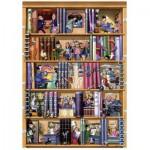 Puzzle  Heye-29234 Kravarik: Books