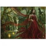 Puzzle  Heye-29272 Cris Ortega: Red