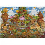 Puzzle  Heye-29360 Mordillo: Train