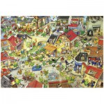 Puzzle  Heye-29406 Degano: Dragontown