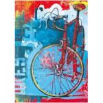 Puzzle  Heye-29600 Bike Art, Red Limited