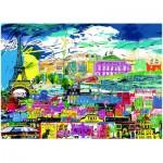 Puzzle  Heye-29741 Kitty McCall: I love Paris!