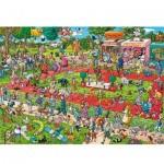 Puzzle  Heye-29788 Hunde Show