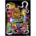 Puzzle  Heye-70169-29483 Jon Burgerman: Top Score