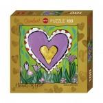 Puzzle  Heye-70858-29764 Stefanie Steinmayer - Hearts of Gold - Spring
