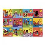Puzzle  James-Hamilton-716 Die Uhr Lesen Lernen