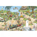 Puzzle  Jumbo-01555 Jan van Haasteren: Der Golfplatz
