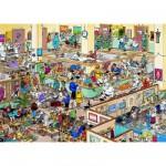 Puzzle  Jumbo-01650 Jan van Haasteren: Gute Besserung
