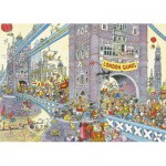 Puzzle  Jumbo-17230 Wasgij Mystery: Letztes Hindernis
