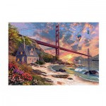 Puzzle  Jumbo-18333 Dominic Davison: Golden Gate Bridge