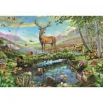 Puzzle  Jumbo-18357 Wildlife Splendour
