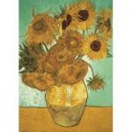 Puzzle  Jumbo-18396 Vincent Van Gogh - Sonnenblumen