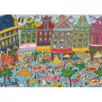 Puzzle  Jumbo-18562 Grand Place, Brüssel