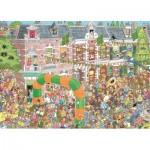 Puzzle  Jumbo-19034 Jan Van Haasteren - Nijmegen Wanderung